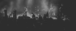 Banda no palco