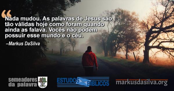 Estudo Bíblico - O Fim dos Mornos. Mornidão andtes fostes frio ou quente - Markus DaSilva