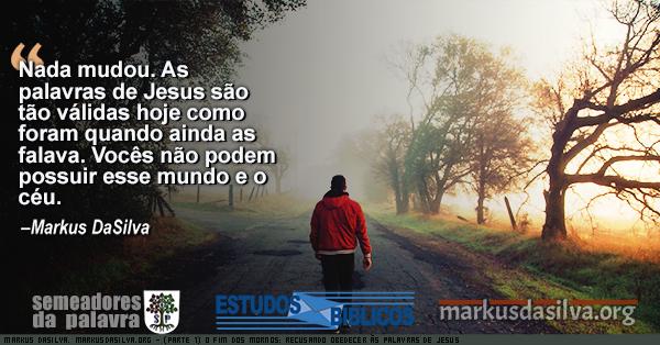 Homen andando numa rua arborizada ao nascer do sol com texto sobre o artigo: Estudo Bíblico - O Fim dos Mornos. Mornidão andtes fostes frio ou quente - Markus DaSilva