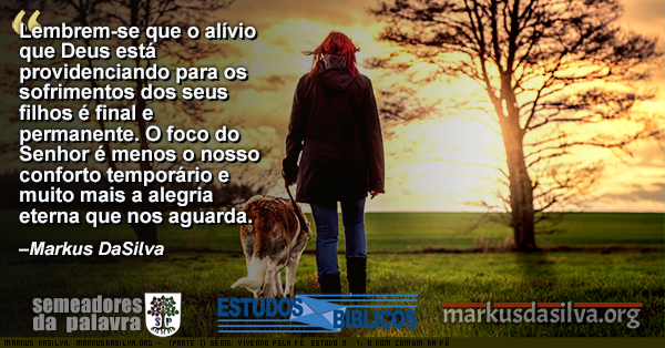 Senhora andando com o seu cachorro de manha com texto sobre o artigo (Parte 1) Série: Vivendo Pela Fé. Estudo Nº 1: O Dom Comun da Fé. Por Markus DaSilva