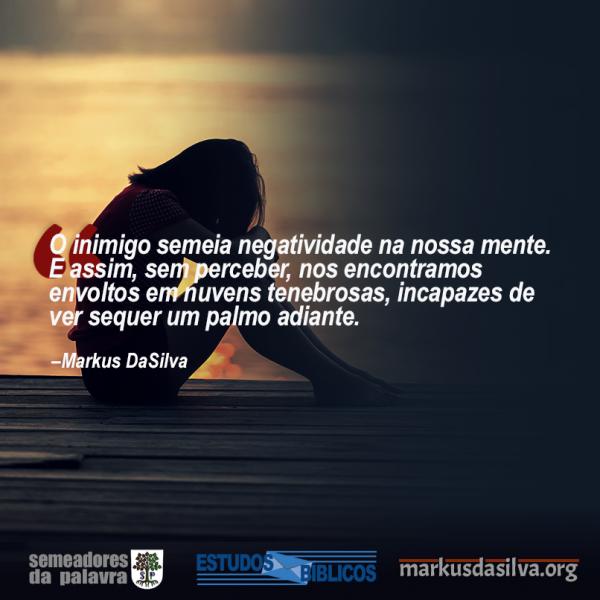 A Nuvem Negra Do Desânimo Ansiedade e Depressão - Por Markus DaSilva
