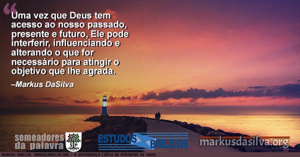 Paisagem com mar com um farol no final com Estudo Bíblico - A ONIPRESENÇA (SÉRIE OS ATRIBUTOS DE DEUS) - por Markus DaSilva