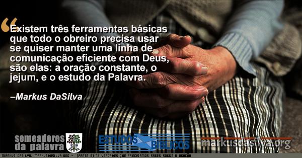 Foto de uma senhora de idade de maos cruzadas orando com Estudo Bíblico - (Parte 8) 12 Verdades Que Precisamos Saber Sobre A Oração - as Ferramentas - Markus DaSilva