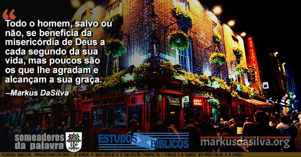 Foto de frente para um bar muito cheio com Estudo Bíblico - A Graça, a Obediência e a Salvação (Parte 3) - Paulo e a Graça. Os apóstolos e a Graça. A salvação é pela graça. Markus DaSilva