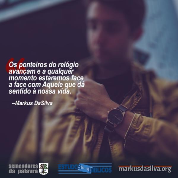 Estudo Bíblico - (Parte 5) O Sentido da Vida - De Olho No Alvo - Markus DaSilva