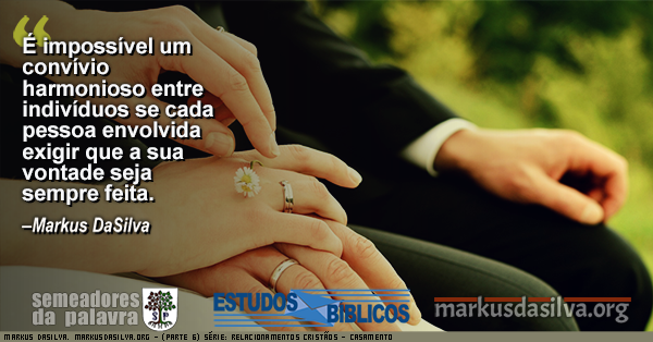 Foto de um jovem casal com maos juntas Estudo Bíblico - (Parte 6) Série: Relacionamentos Cristãos - Casamento - Markus DaSilva