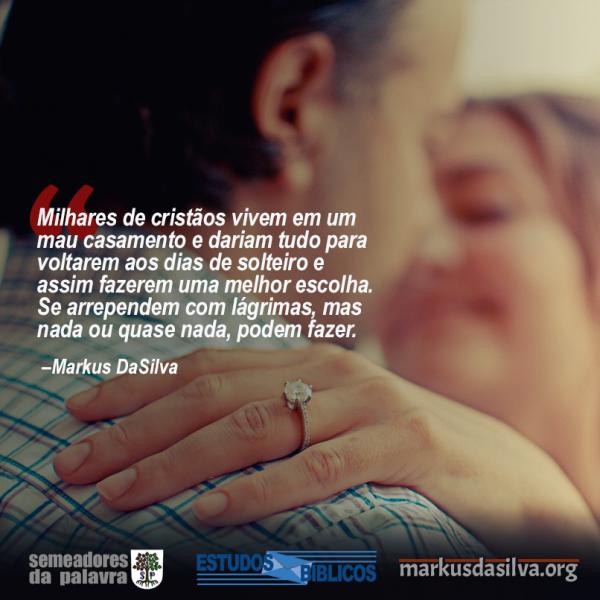 Estudos Bíblicos - (Parte 5) Série: Relacionamentos Cristãos - Namoro - Markus DaSilva