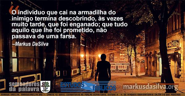 Foto de uma noite iluminada na cidade Estudo Biblico Serie: (Parte 4) Serie: Combatendo as Forças Espirituais. Estudo Nº 4: Os Ataques Sobrenaturais (Além do que Podemos Aguentar) [Com Áudio] por Markus DaSilva