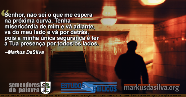 Foto de um homen caminhando dentro de uma estacao de metro Estudo Biblico Serie: Combatendo as Forças Espirituais. Estudo Nº 8: Resistência e Contra-ataque (A Oração Constante por Markus DaSilva