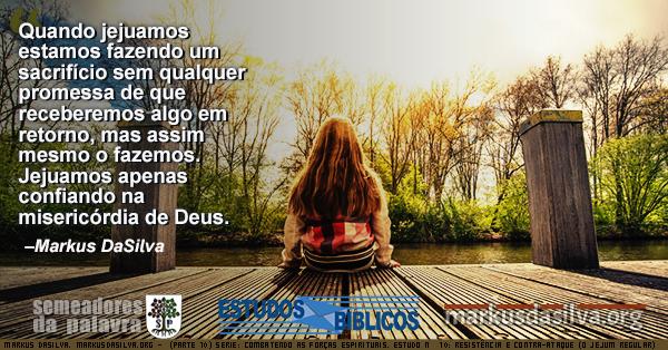 Foto de uma menina sentada no quintal Estudo Biblico Serie: Combatendo as Forças Espirituais. Estudo Nº 10: Resistência e Contra-ataque (O Jejum Regular) Com Áudio Markus DaSilva