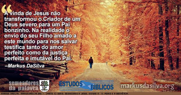 Foto de um homen andando numa manha de outono (Parte 5) Serie: Obedecendo a Jesus. Estudo Nº 5: Pedro e a Obediência. [Com Áudio] Markus DaSilva