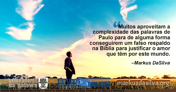 Foto de um rapaz olhando o ceu azul de manha. (Parte 8) Serie: Obedecendo a Jesus. Estudo Nº 8: Paulo e a Obediência. [Com Áudio] Markus DaSilva