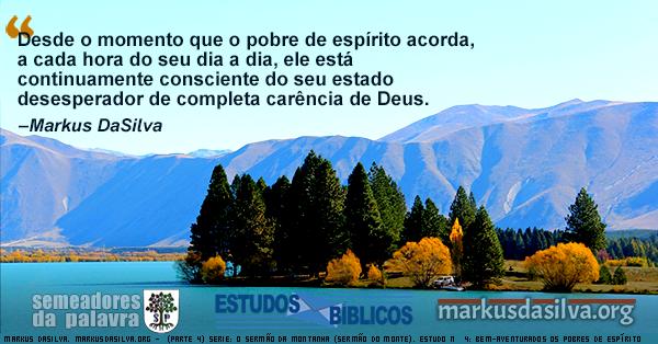 Uma foto de montanhas com um mar azulado (Parte 4) Serie: O Sermão da Montanha. Estudo Nº 4: As Bem-Aventuranças: Bem-aventurados Os Pobres de Espírito [Com Áudio] Markus DaSilva