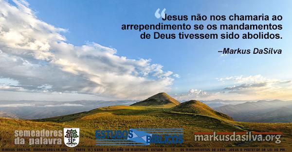 Uma foto de dois montes num dia ensolarado. Serie: O Sermão da Montanha. Estudo Nº 15: Os Mandamentos de Deus: Jesus, o Protetor da Lei do Pai. Markus DaSilva