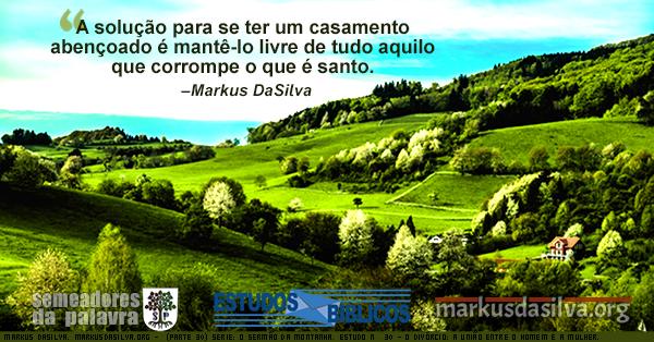 Montanhas e planícies com muito verde e céu azul ao fundo. Ilustração sobre o texto: O Sermão da Montanha. Estudo Nº 30: O Divórcio: A União Entre o Homem e a Mulher