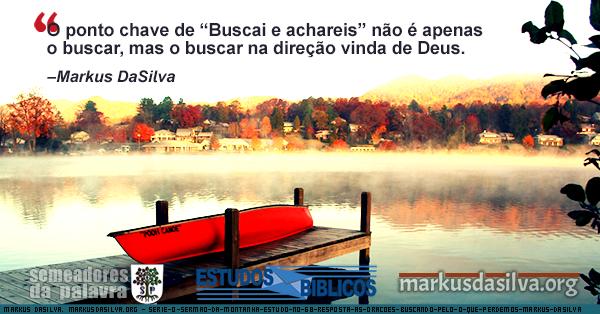 Imagem de um barco vermelho em um lago, ilustrando o texto sobre o sermão da montanha